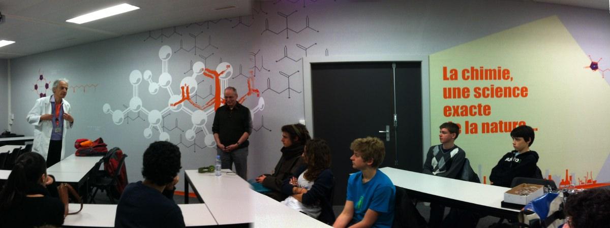 Presentation par H. Hagemann au chimiscope