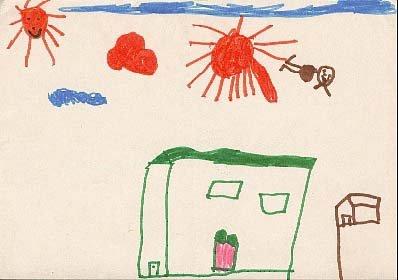 Le guichet du savoir consulter le sujet analyse du plan de la maison fami - Dessin maison enfant ...